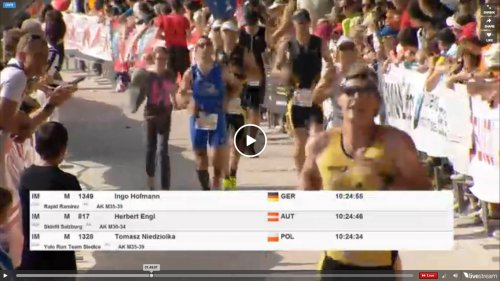 Ironmanpremiere für Alex Leitner in Klagenfurt