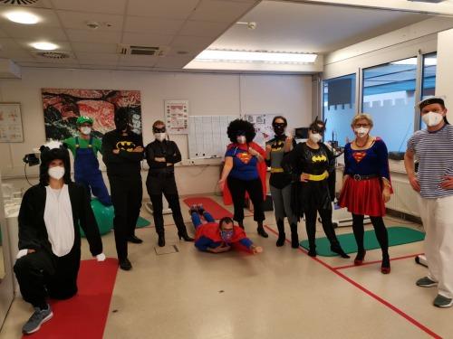 Superhelden im Einsatz